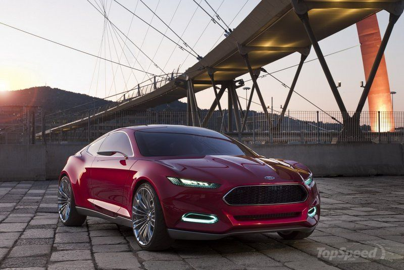 2011 Ford Evos Concept. Source: TopSpeed.com
