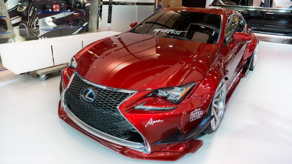Lexus widebody importfest