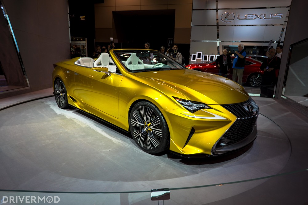 Fun fact: this Lexus LF-C2 Concept was unveiled two years ago in LA..