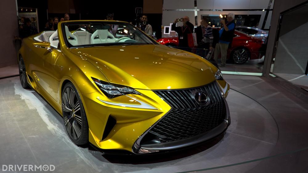 Lexus LF-C2 concept roadster
