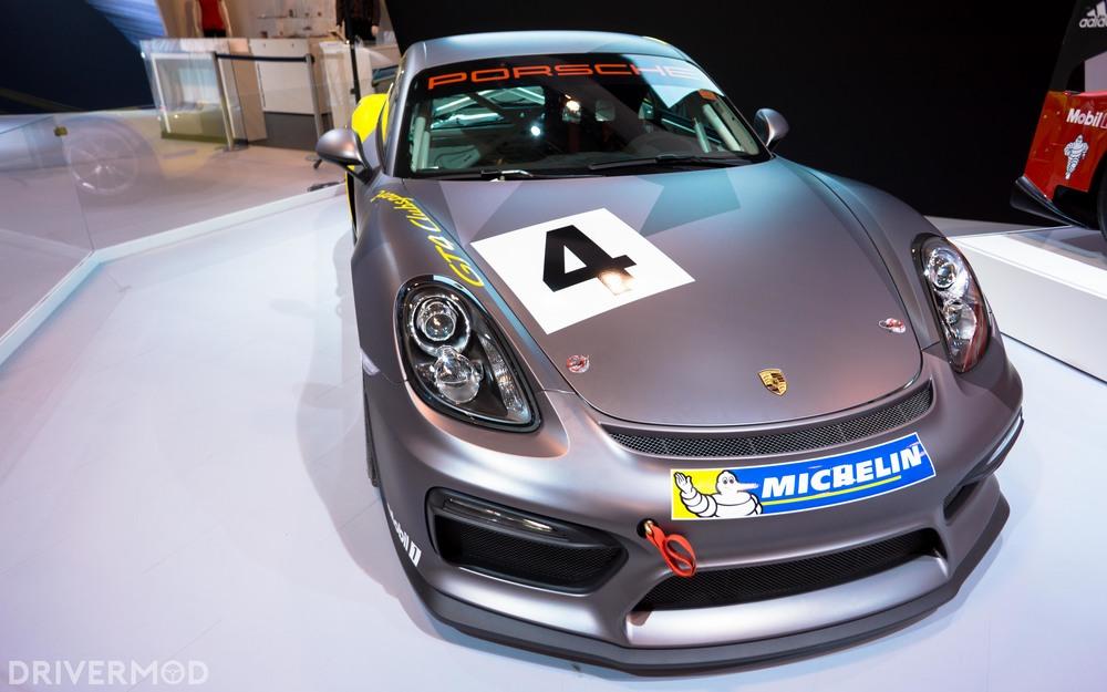 Porsche Cayman GT4 cup car