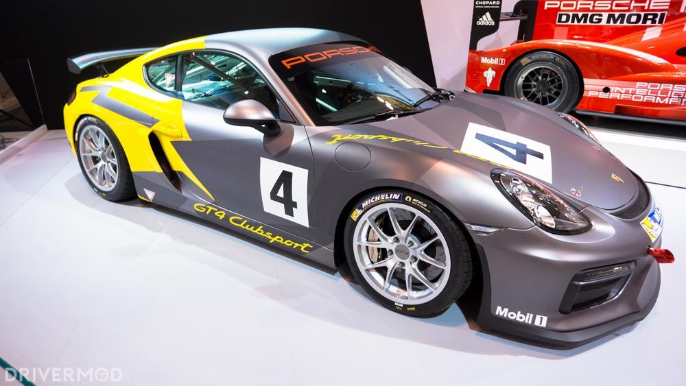 Porsche Cayman GT4 cup car 2