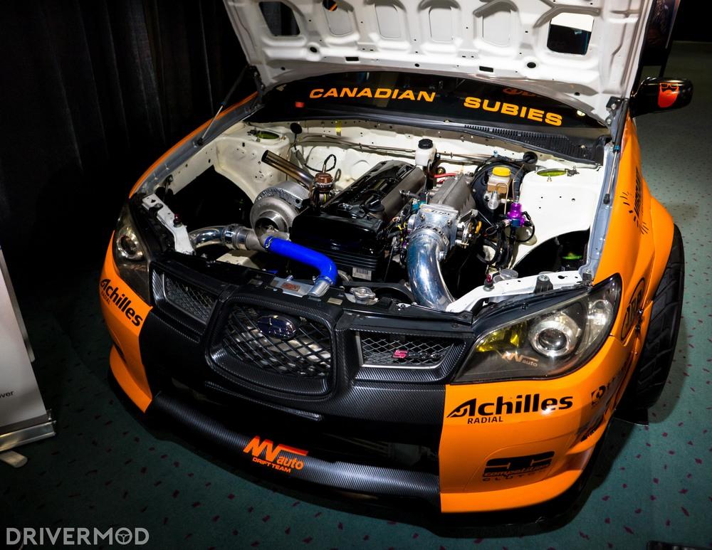 Formula D 2JZ Subaru WRX STi 2
