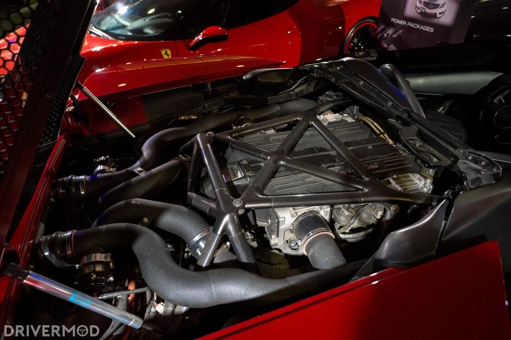 Eurocharged twin turbo Lamborghini Murciélago