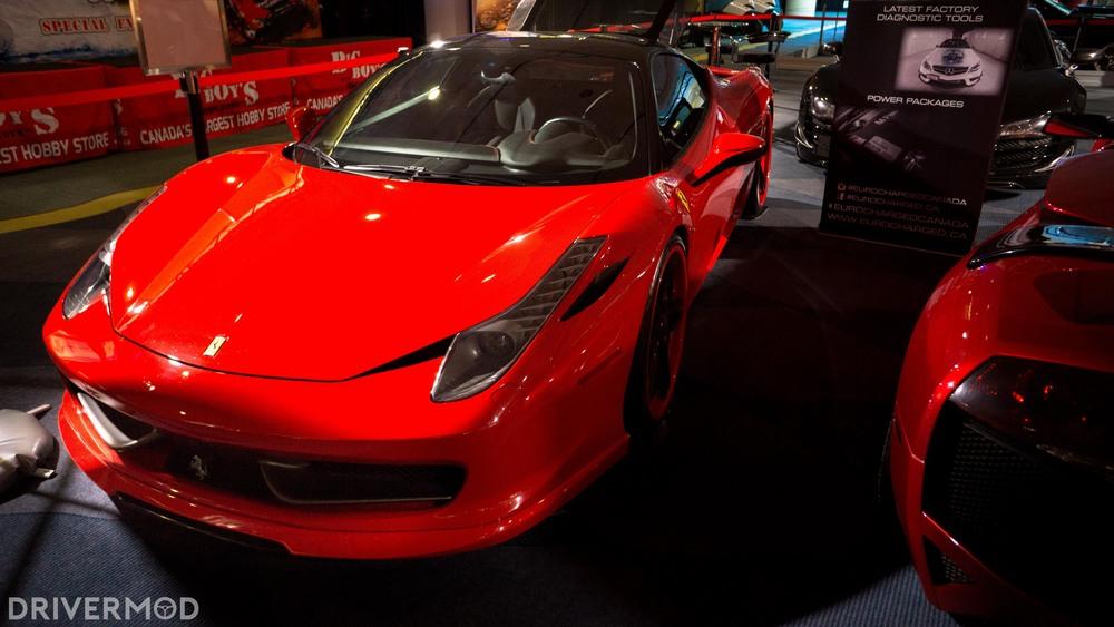 Eurocharged Twin Turbo Ferrari 458