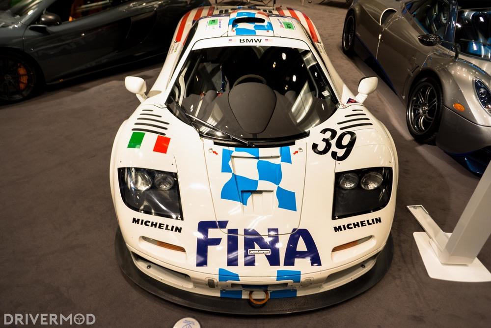 McLaren F1 racecar