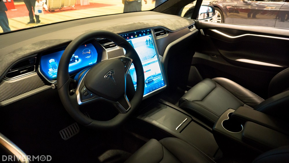 2016 tesla model S interior