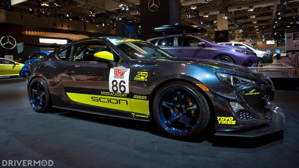 Scion FRS racecar speed academy 2