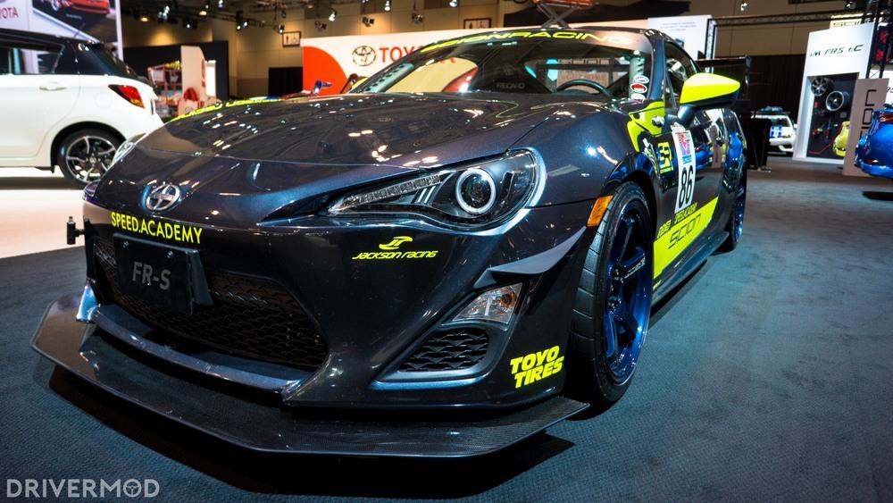Scion FRS racecar speed academy 5