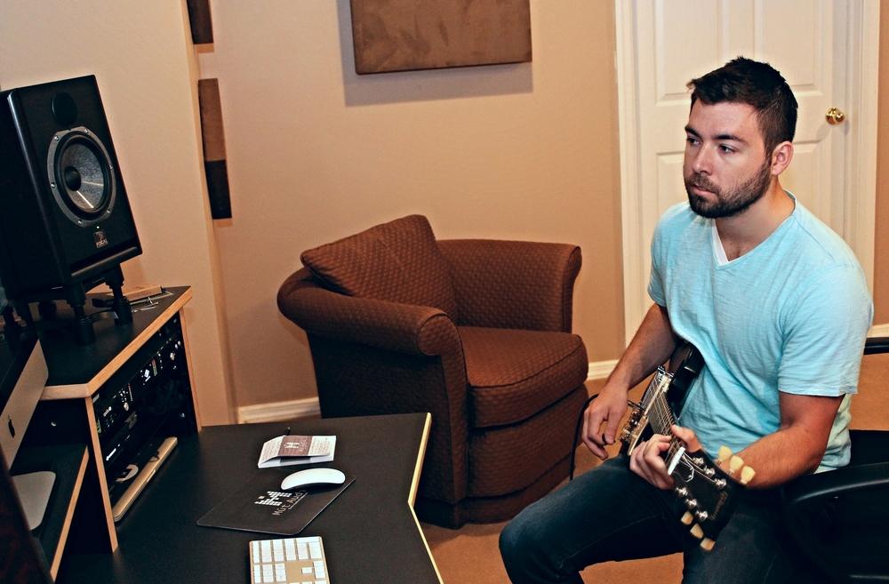 Pensive Guitar Face