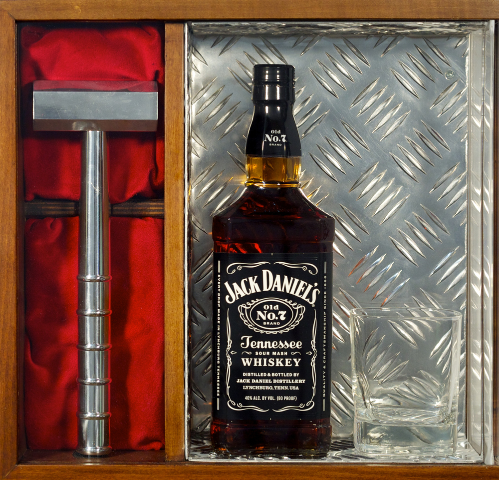 D.I.Y. Jack Daniel's with Whiskey Glass