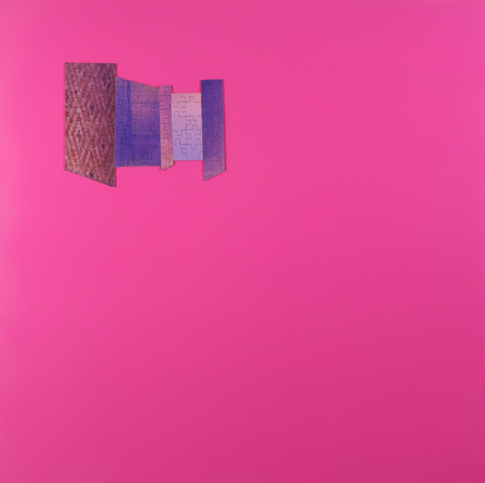 Untitled (Pink Puzzle)