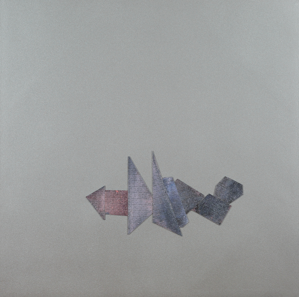 Untitled (Silver Puzzle)