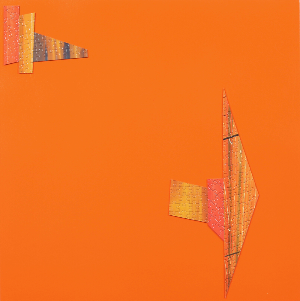 Untitled (Orange Puzzle)