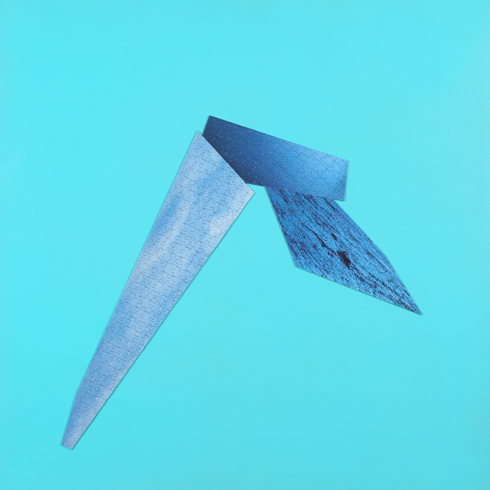 Untitled (Light Blue Puzzle)