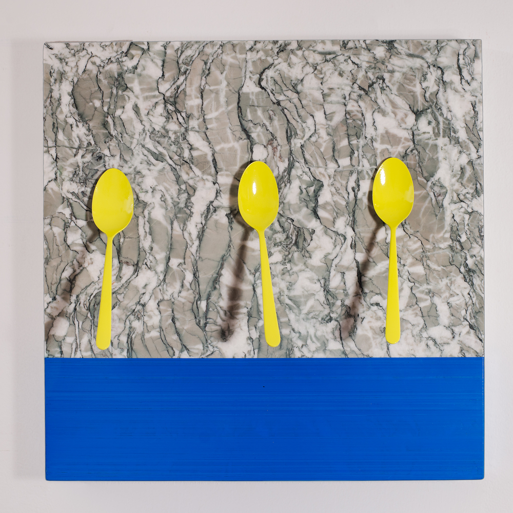 Untitled (3 Yellow Spoons)