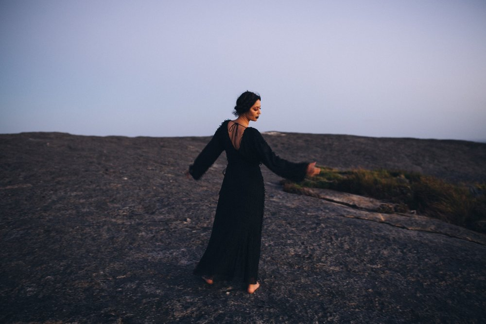 Mary Wears | Stevie May Badlands L/S Maxi Dress