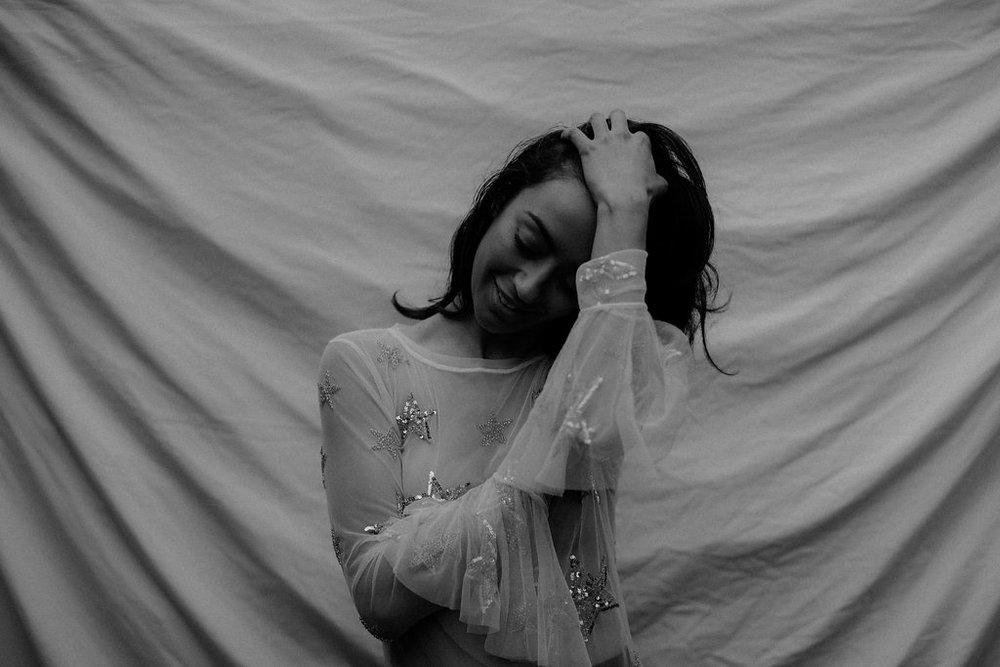 Isabelle Quinn | Emie Mesh Top