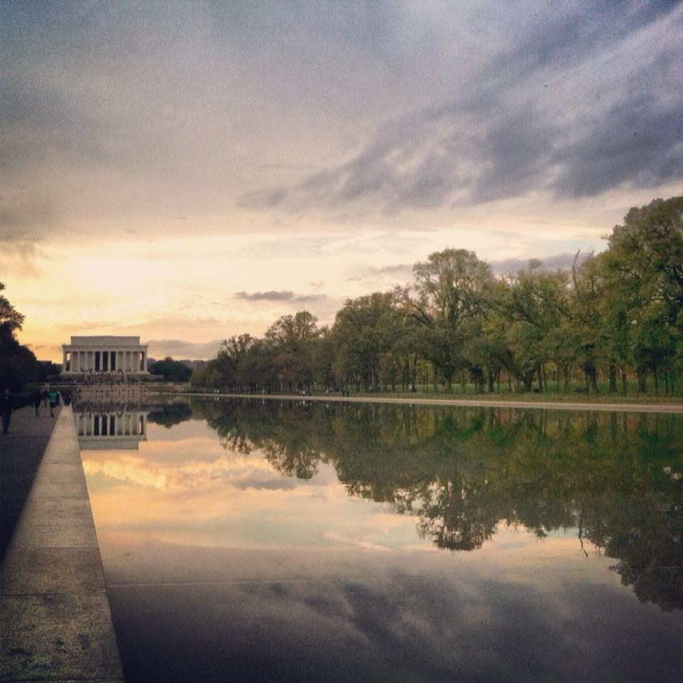 Reflecting Pool & Lincoln Memorial