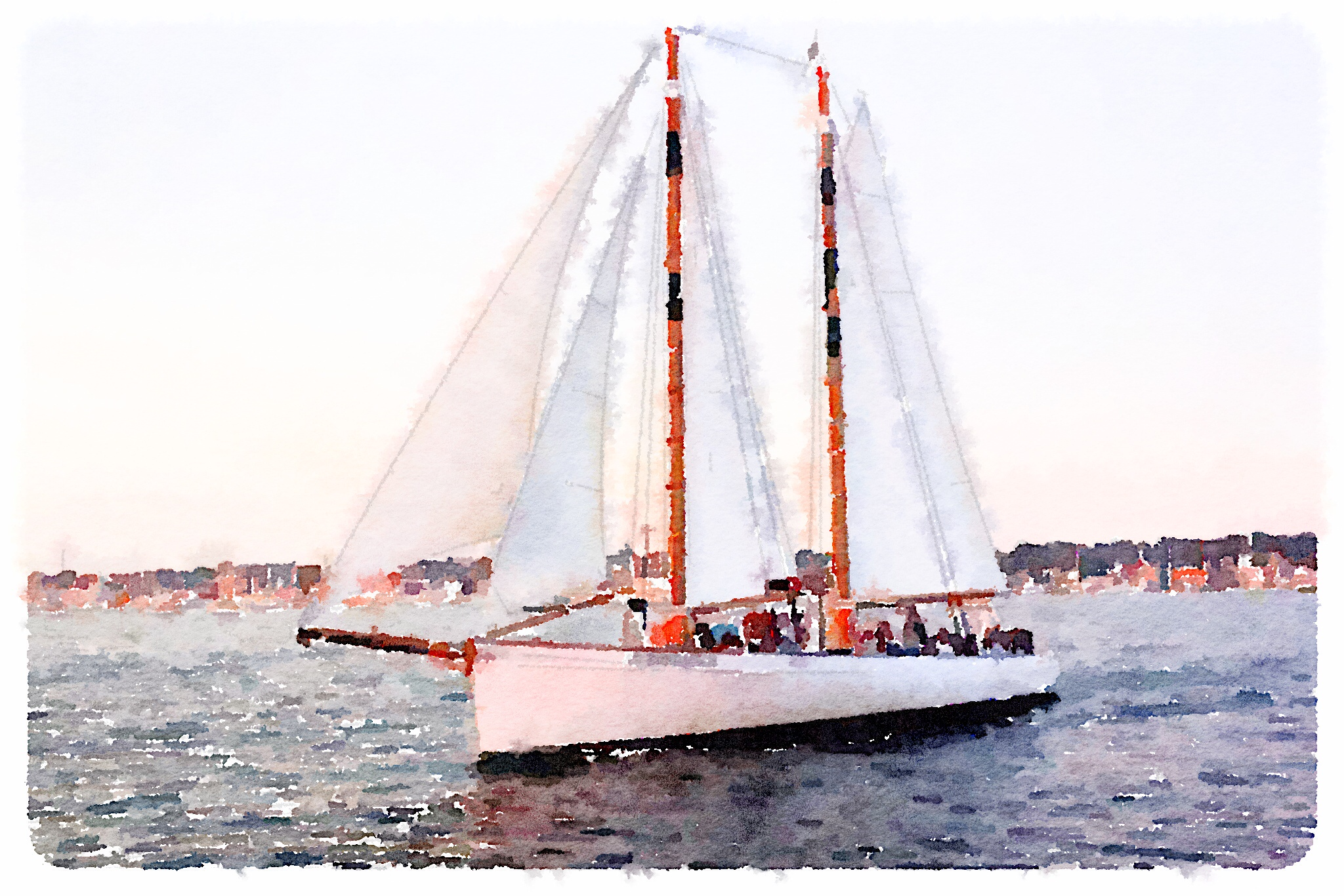 Sailing in Newport, RI