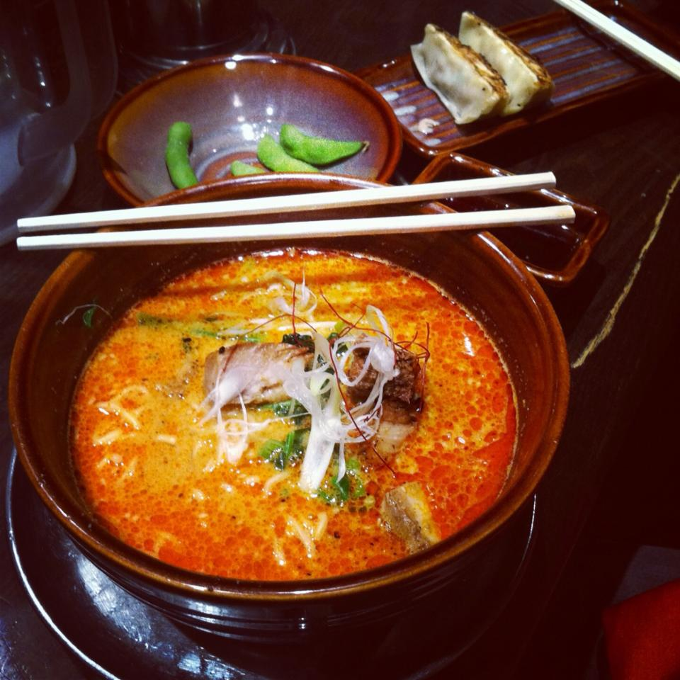 Spicy Ramen at 3 or 4am was typical after a trip to Gioronimo's Shot Bar