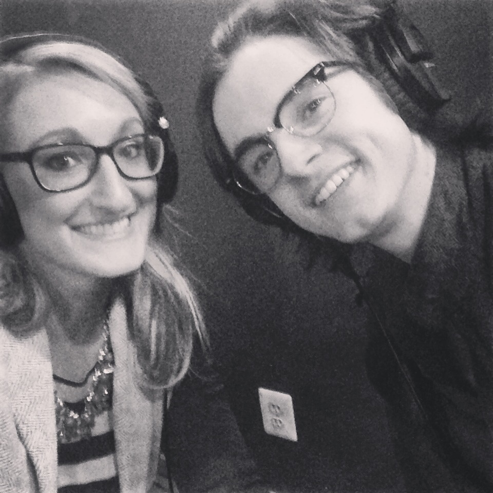 Paul Pfau & I recording episode #36