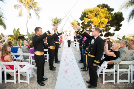 Bali Hai San Diego Navy Wedding