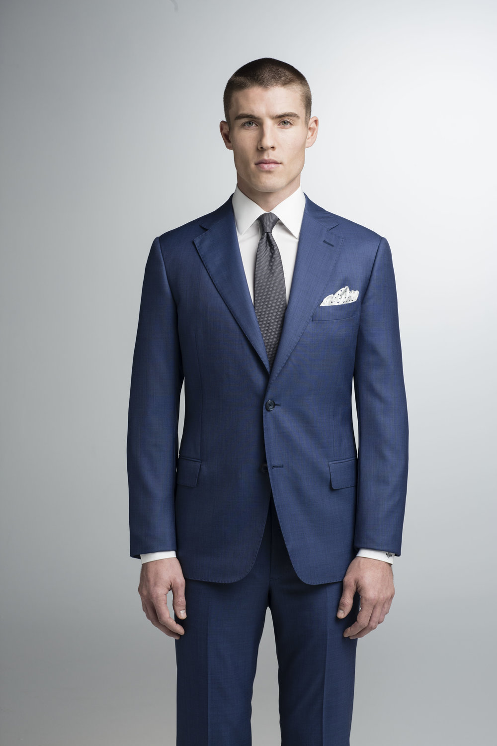 jhilburn custom suits bold blue suit for groom