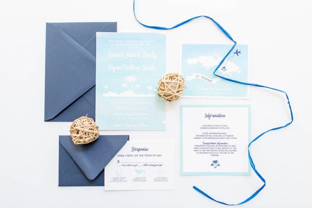 twila and co destination wedding branding wedding invitations