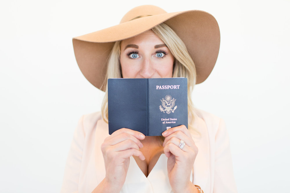 She caught the travel bug as a navy brat... - Living in 13 cities, 6 states, & 2 countries and 11 different schools will make a girl restless. Adventure calls often (as do destination weddings!)