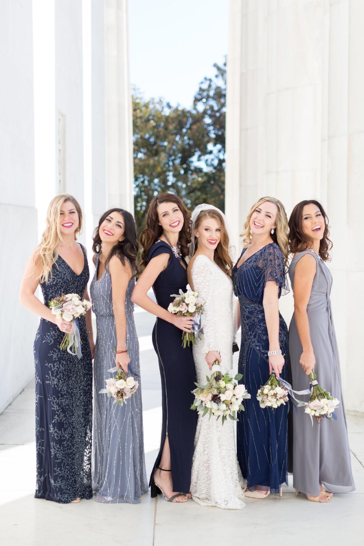 brett denfeld sincerely pete virginia wedding photographer bride and bridesmaids