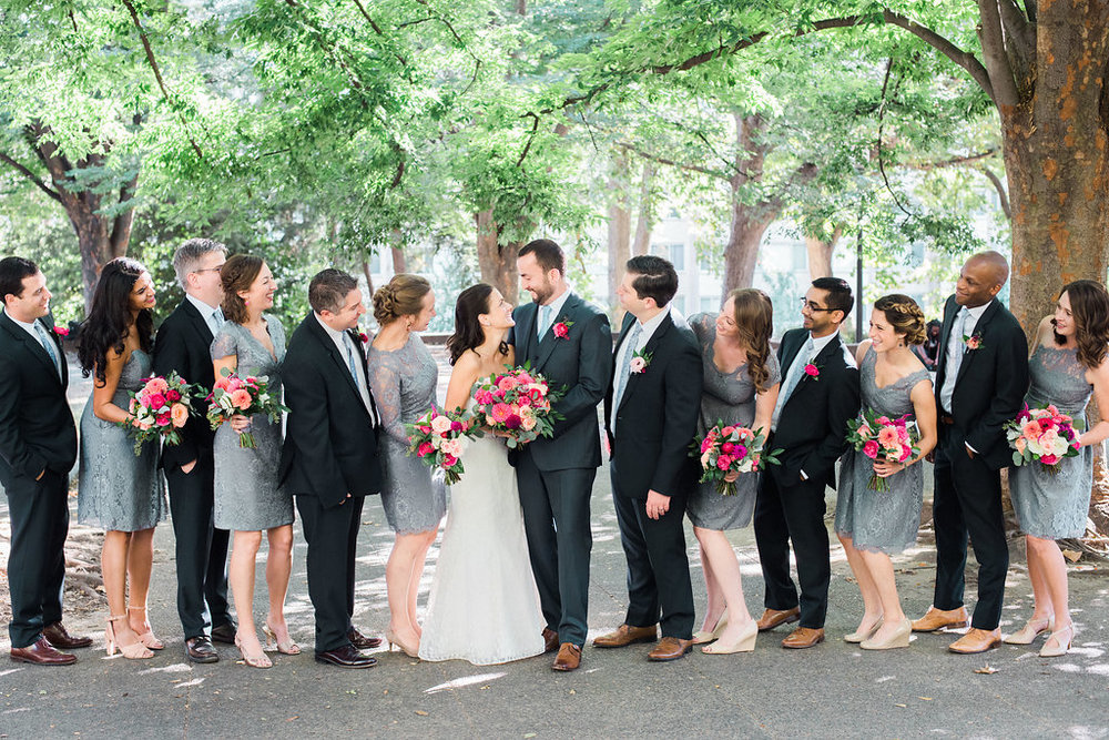 Longview Gallery Wedding Washington DC Lissa Ryan Photography Sincerely Pete Events Bridal Party