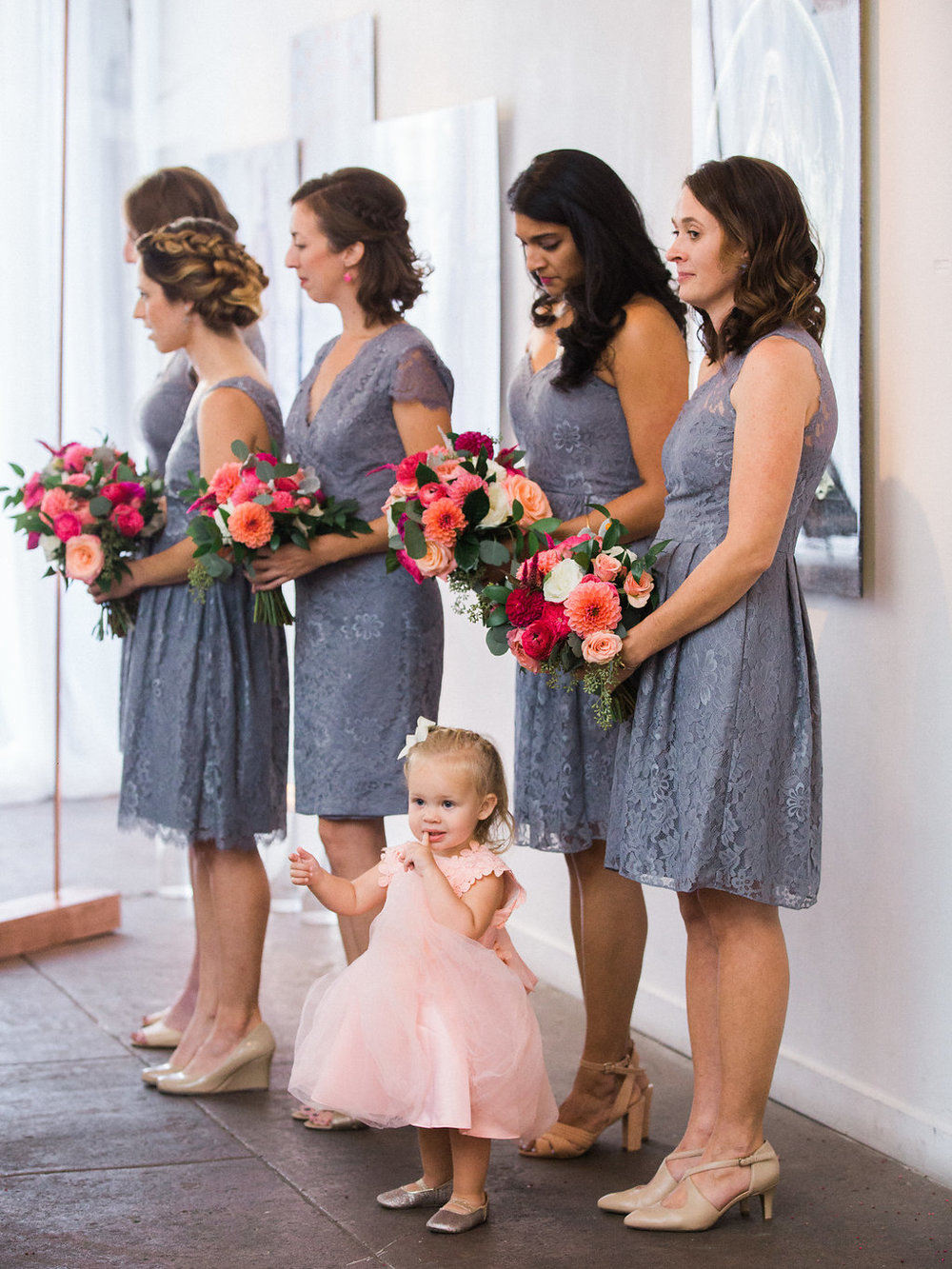 Longview Gallery Wedding Washington DC Lissa Ryan Photography Sincerely Pete Events Flower Girl
