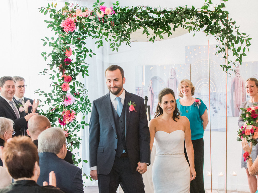 Longview Gallery Wedding Washington DC Lissa Ryan Photography Sincerely Pete Events Just Married