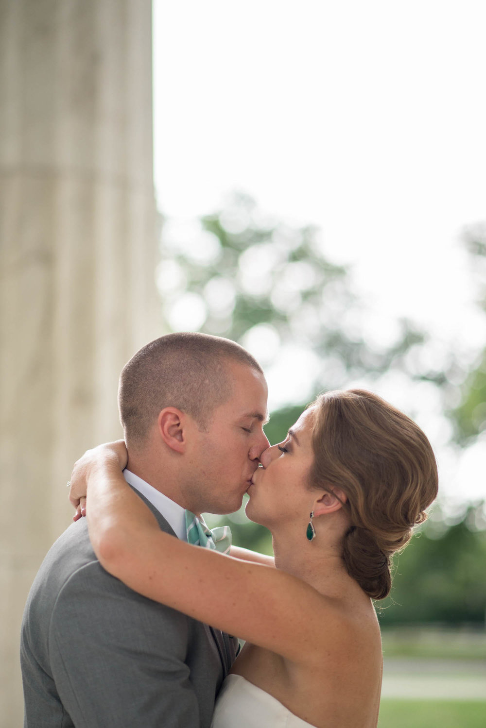 Washington DC Wedding - Sincerely Pete Events - Erin Tetterton Photography - Wedding Photos at the Monuments