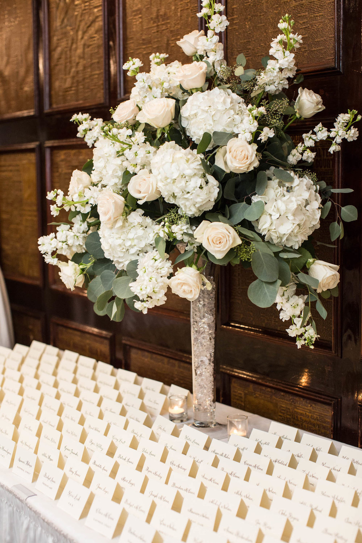 Washington DC Wedding - Sincerely Pete Events - Erin Tetterton Photography - Escort Card Arrangements