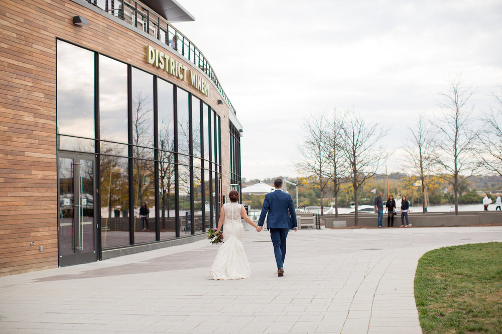 District Winery Wedding Sincerely Pete Events Olivia Jacob Photography