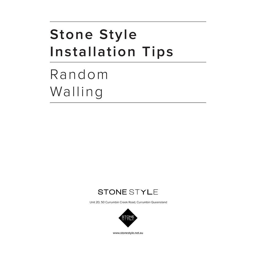 Installation Tips -