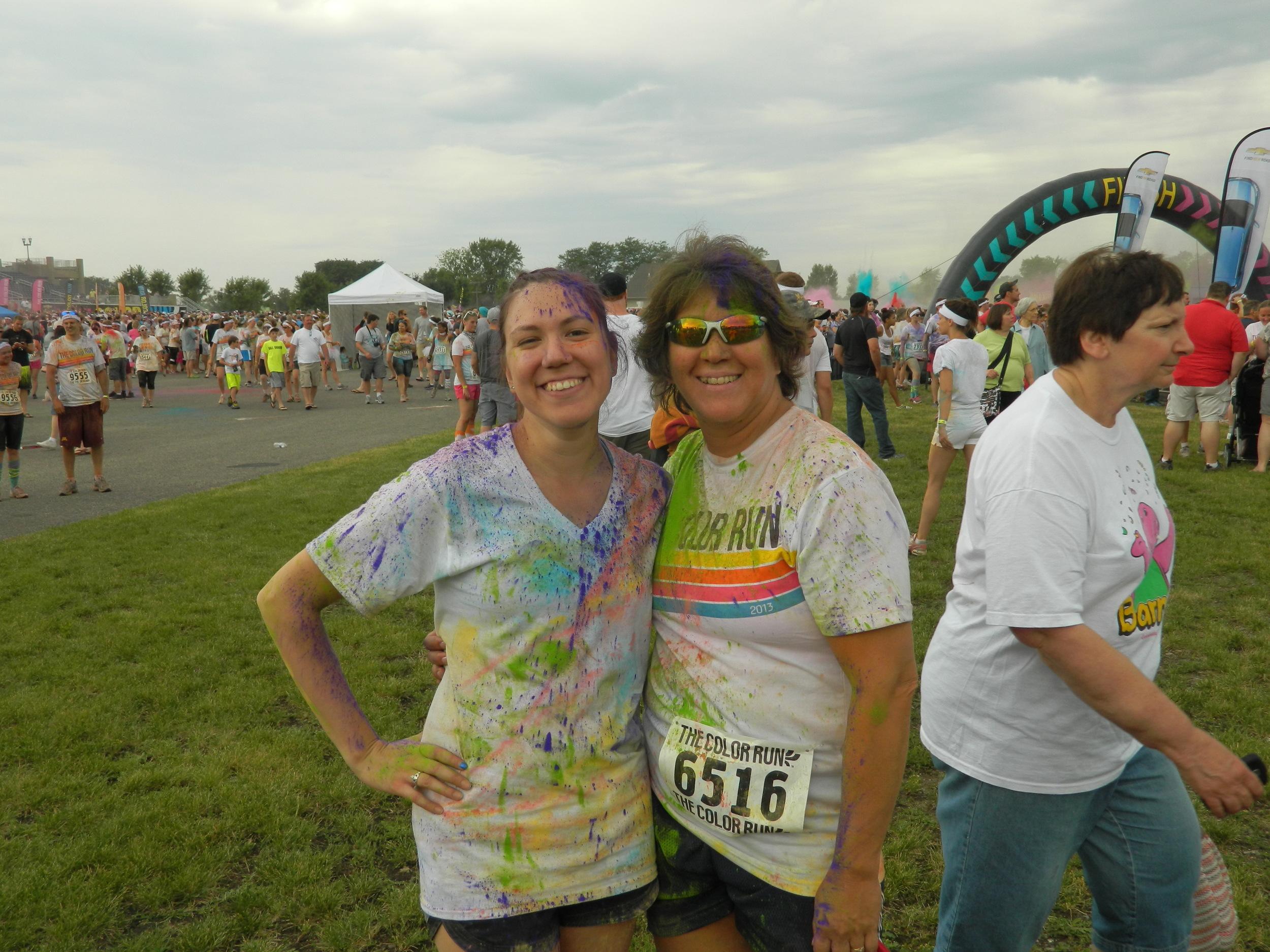 Color Run 2013! Happy happy.