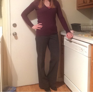 Sweater: The Limited Pants: LOFT Booties: Express