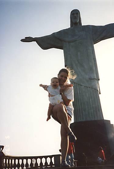 Young Celinha & Baby Lya