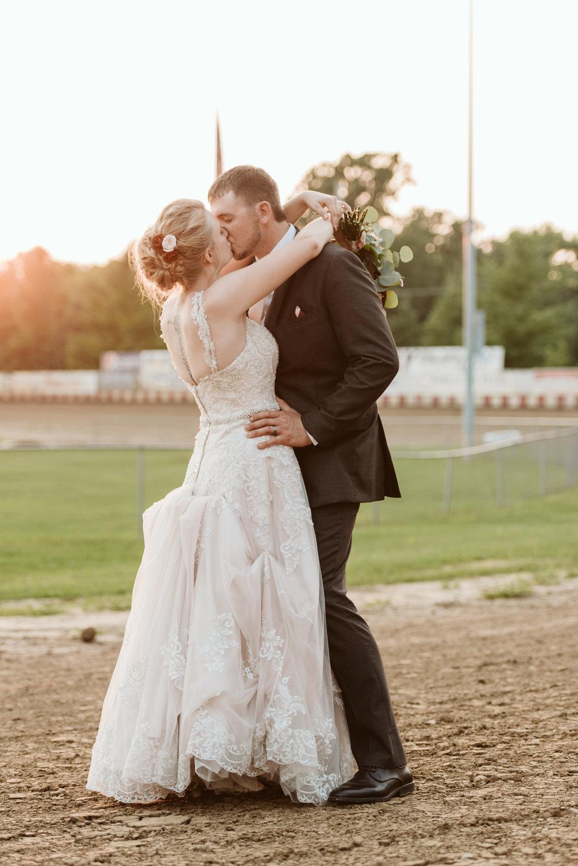 Angell Park Speedway Wedding
