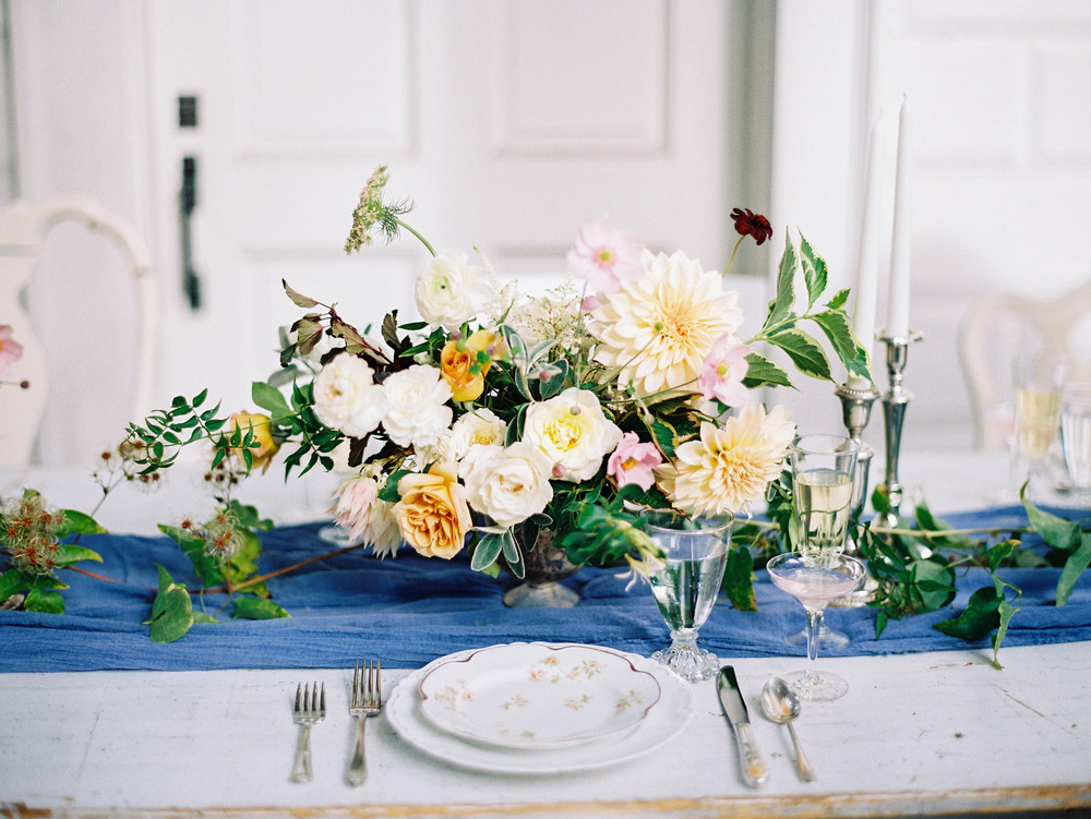Styled Shoot Tinge Floral The Workshop Bloom