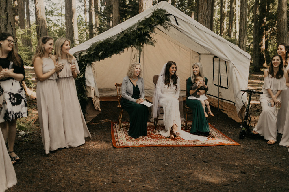 Bixby + Pine Shayna and Mark Wedding at Kitsap Memorial State Park