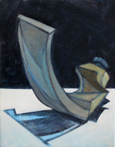 """MANGANESE, 11x14"""", OIL ON CANVAS"""