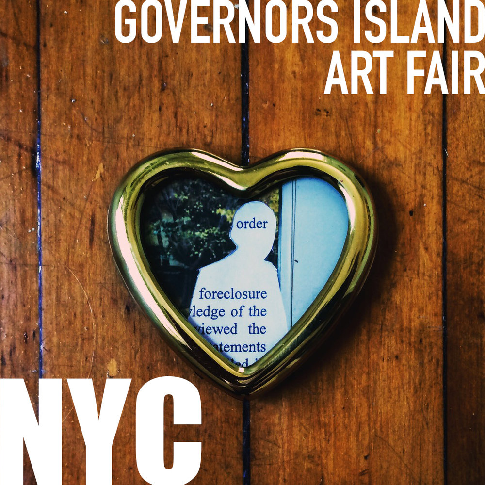 NEW YORK CITY - See Real Estate Goldmine as it was shown as part of the 10th Annual Governors Island Art Fair.