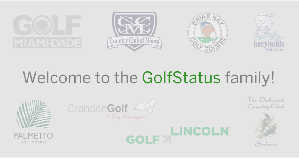 December Recap      The end of 2014 marks the end of our best year yet! However, we are even more excited about 2015 and the progressive courses and partners we'll get to work with. In January we will welcome the Oakcreek Country Club, Palmetto Golf Course, Crandon Golf at Key Biscayne, Briar Bay Golf Course, Greynolds Golf Course, and the Country Club of Miami to our growing list of partner courses. In addition, we'll be unveiling some exciting improvements to the iPhone and Android apps.        Last year, we were able to highlight some of our winners in our monthly emails. Because of our growth, and the increasing number of exclusive deals, instant rewards, sweepstakes, and contests, platform-wide winners announcements will be less frequent in 2015. Instead, most of these announcements will emailed directly to the individual winners. But definitely keep an eye out for other GolfStatus news!       With that said, and for old time's sake, congratulations to  Peter Hansen  . Peter took home the top spot on our points and check-in leaderboards in the month of December.    Here's to a great 2015!