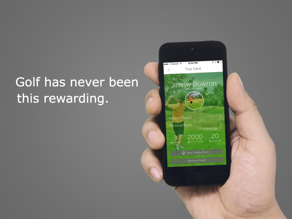 GolfStatus 3.0 Welcome to the New GolfStatus! We are excited to announce the release of GolfStatus 3.0. Our latest version features completely redesigned mobile applications that are lighter, cleaner, and faster.  Our new designs preserve the features you have come to know and love, but they also take your experience to the next level. Importantly, you can now earn rewards for your personal bests and your social influence. To make the most of the new GolfStatus, check out our Quick Guide to Earning Rewards on GolfStatus or our more detailed Mobile Guide.