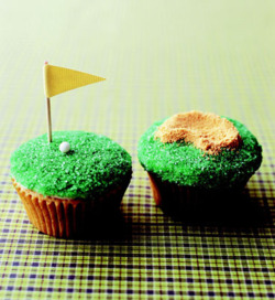 "Tiger is ""pissed"" today.  Maybe a golf cupcake would make him feel better?"