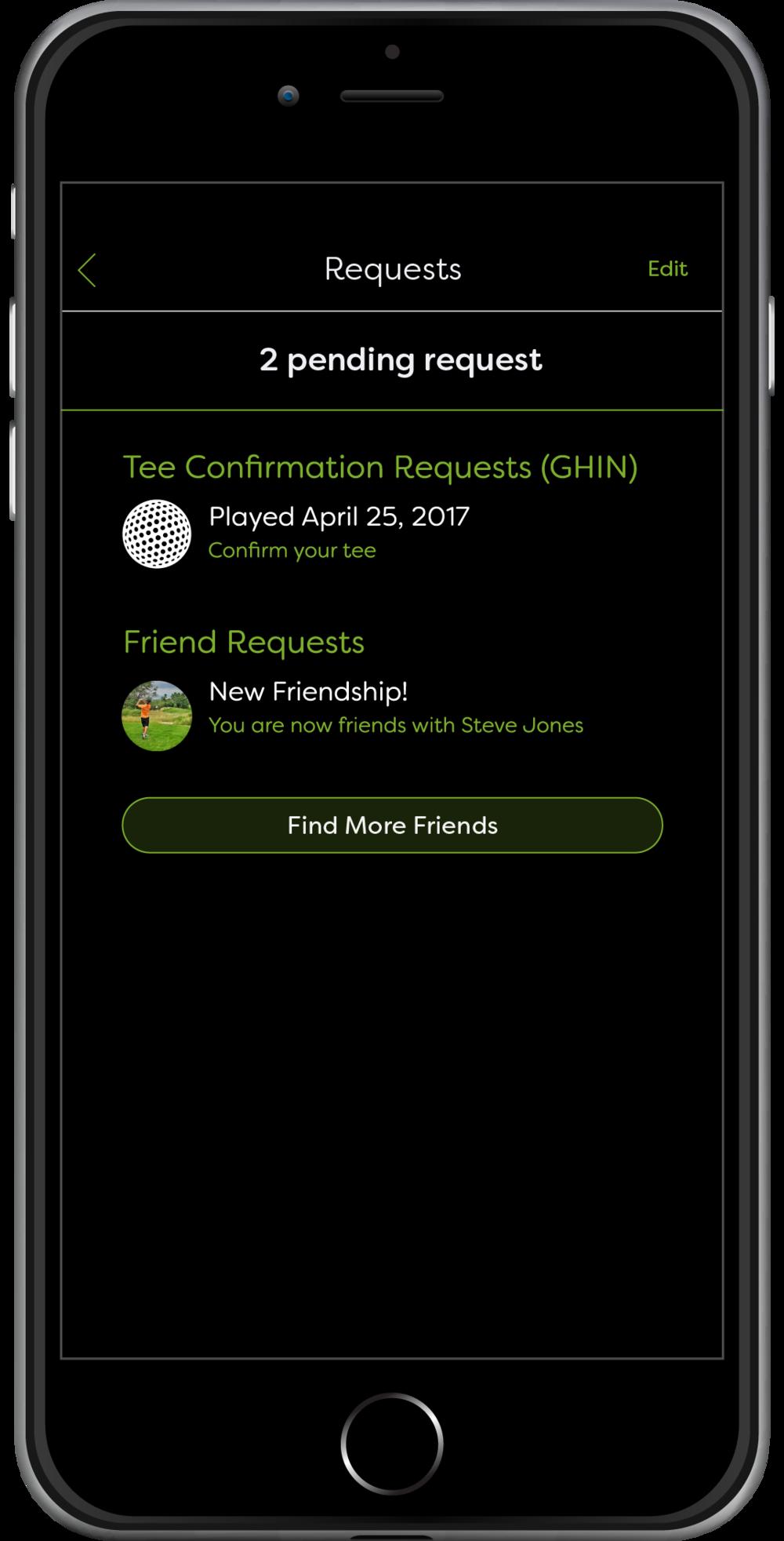 GHIN Request